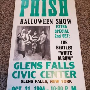 Original 1994 phish halloween concert poster